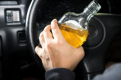 Drunk driver,social problem concept. Stock Photography
