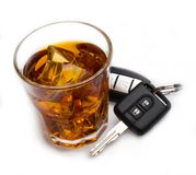 Drunk Driving Royalty Free Stock Image