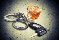 Drunk Driving Royalty Free Stock Photos