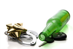 Drunk Driving Concept Royalty Free Stock Photo