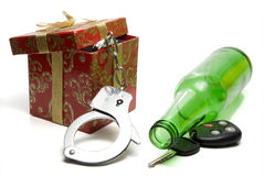 Drunk Driving Concept Royalty Free Stock Images