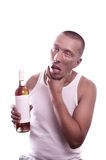 Drunk guy Stock Photography