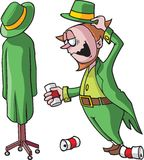 Drunk Leprechaun Royalty Free Stock Photo