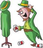 Drunk Leprechaun Royalty Free Stock Photo