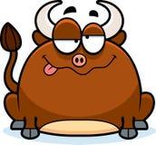 Drunk Little Bull Royalty Free Stock Image