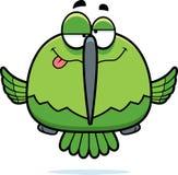 Drunk Little Hummingbird Stock Image