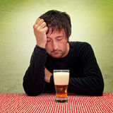 Drunk man Stock Images
