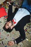 Drunk man Stock Photography