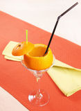 Drunk Orange cocktail Royalty Free Stock Images