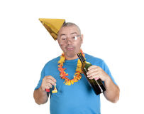 Drunk party Stock Photo