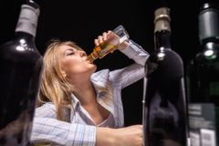 Drunk Royalty Free Stock Photography