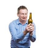 Drunk young man Stock Photos