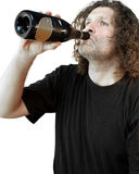 Drunkard Stock Photo