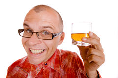 Drunkard Stock Image