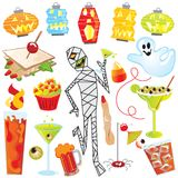 Drunken Mummy Party stock illustration