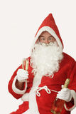 Drunken Santa Stock Photography