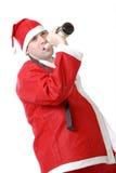 Drunken santa Stock Photography