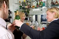 Drunks beventi fotografia stock libera da diritti