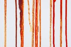 Druppels van verf op canvas royalty-vrije stock fotografie