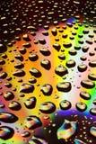 Druppels van water stock foto's