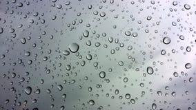Druppeltje van regenend seizoen Royalty-vrije Stock Afbeeldingen