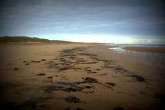 Druridge Bay Royalty Free Stock Photos