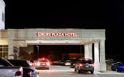 Drury Plaza Hotel St. Louis, MO. Drury Plaza Hotel is an American chain of hotels, motels and restaurants located primarily throughout the United States Royalty Free Stock Photos