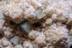 Druse-Kristalle in der Natur Detail Stockfotografie