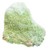 Druse of vesuvianite  idocrase crystals Royalty Free Stock Image