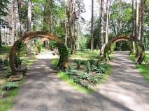Druskininkai Park, Lithuania Stock Photo