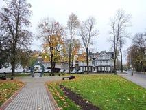 Druskininkai resort town, Lithuania Royalty Free Stock Image