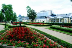 Druskininkai is a spa town on the Neman River in southern Lithuania Royalty Free Stock Photo