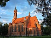 Druskininkai town church, Lithuania Stock Photo