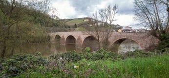 drusus bridge bingen germany Royalty Free Stock Photography