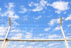drut kolczasty Zdjęcia Royalty Free