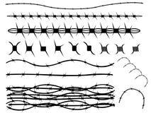 Drut kolczasty Obrazy Stock