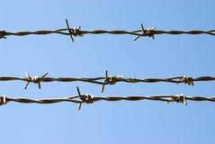 drut kolczasty Fotografia Royalty Free