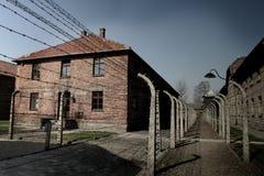Drut kolczasty w więzieniu zdjęcie royalty free