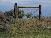 drut płotowy śródpolny drut obraz stock