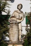 Druvaskördstaty, Aguilar de la Frontera royaltyfri fotografi