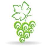 Druvasymbol Royaltyfri Foto