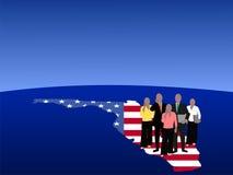drużyna Florydy jednostek gospodarczych Fotografia Stock