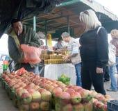 Druz Fruchtmarkt Lizenzfreies Stockfoto