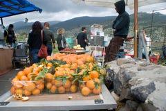 Druz Fruchtmarkt Stockfoto
