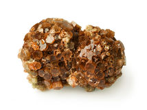 Druze aragonite. On white background Stock Photography