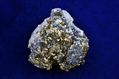 Druze de pyrites Photographie stock