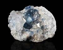 Druze mineral celestite Stock Images