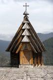 Drvengrad村庄Mecavnik Mokra Gora山的,塞尔维亚 免版税库存照片