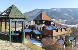 Drvengrad,塞尔维亚 免版税图库摄影