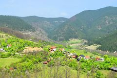 Drvengrad Σερβία στοκ εικόνες